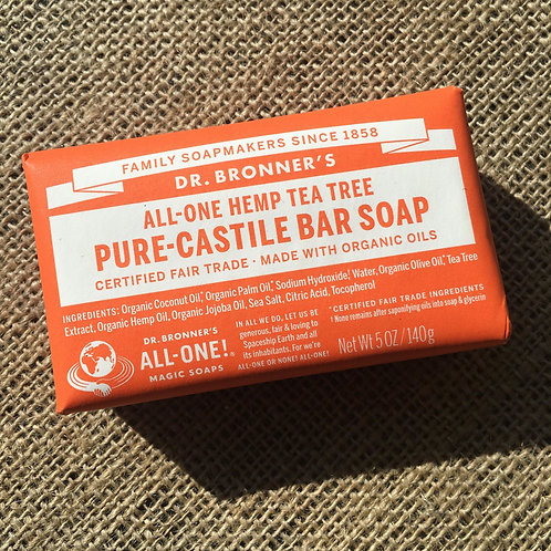 Dr Bronner's Castille Soap - Tea Tree