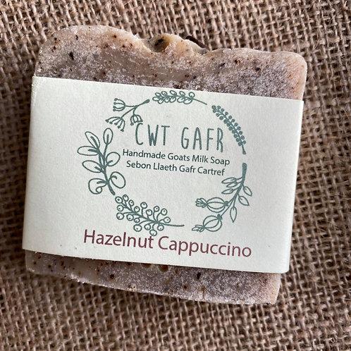 Cwt Gafr Handmade Soap - Hazelnut Cappuccino