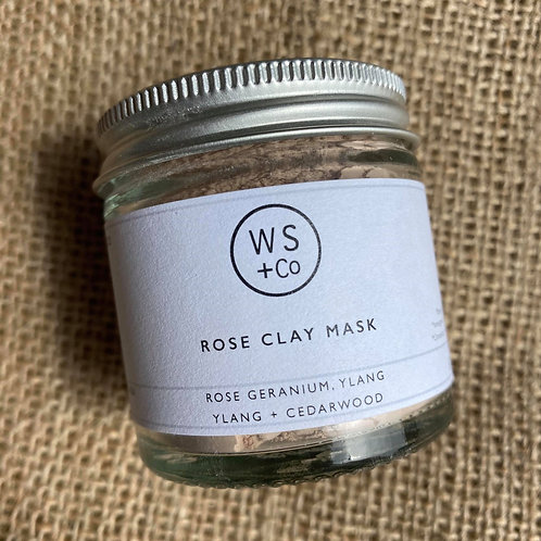 Wild Sage + Co Rose Clay & Honey Mask