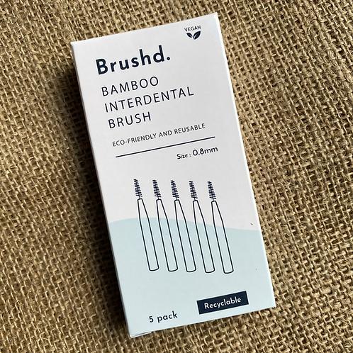 Brushd Interdental Brushes 0.8mm