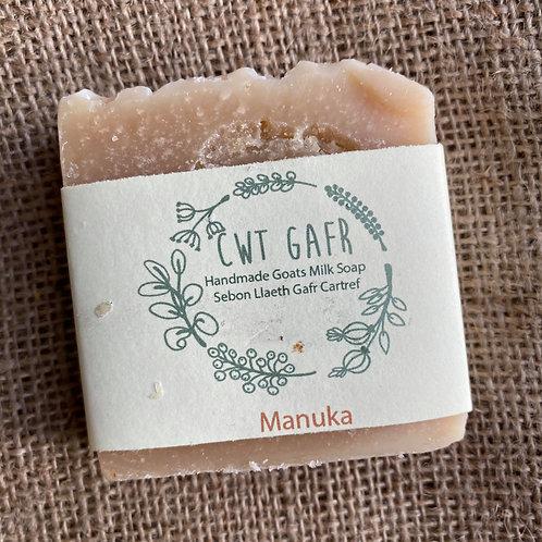 Cwt Gafr Handmade Soap - Manuka