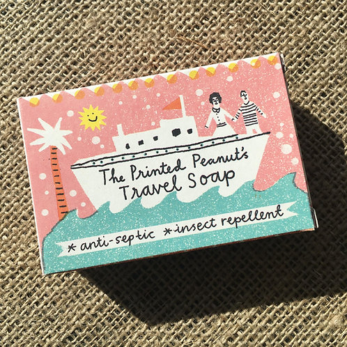 The Printed Peanut 3 in 1 Travel Soap