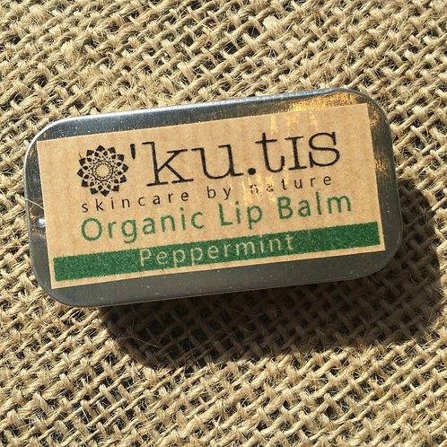 Kutis Organic Lip Balm - Peppermint