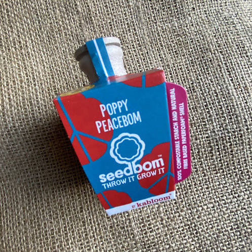 Poppy Peacebom Seedbom
