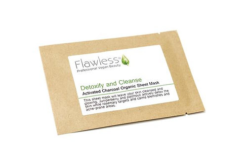 Flawless Detox & Cleanse Face Sheet Mask