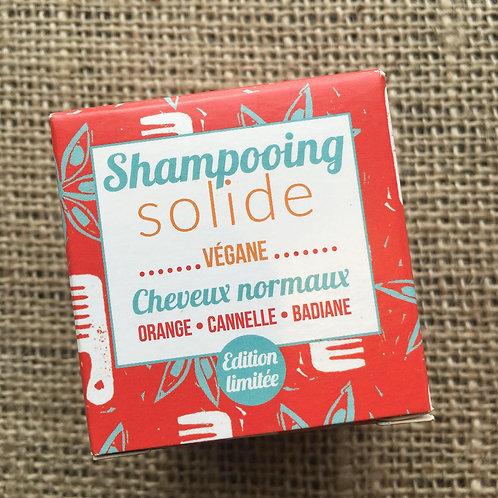 Lamazuna Shampoo Bar  - Orange, Cinnamon & Star Anise