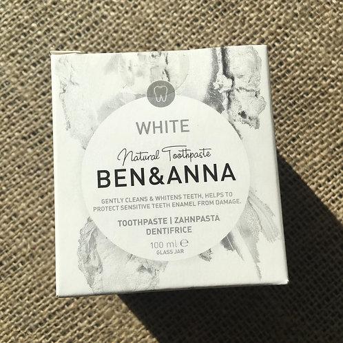 Ben & Anna Natural Toothpaste - White