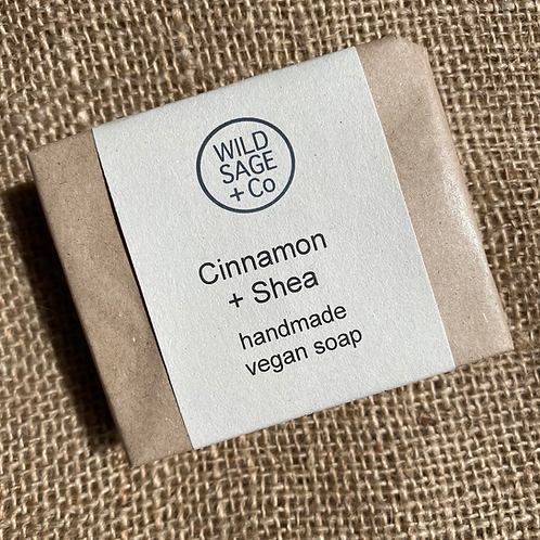 Wild Sage + Co Soap - Cinnamon & Shea