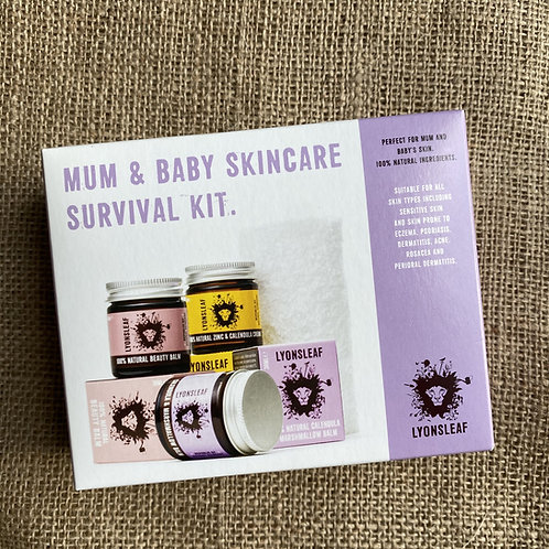 Lyonsleaf Mum & Baby Skincare Survival Set