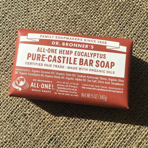 Dr Bronner's Castille Soap -Eucalyptus