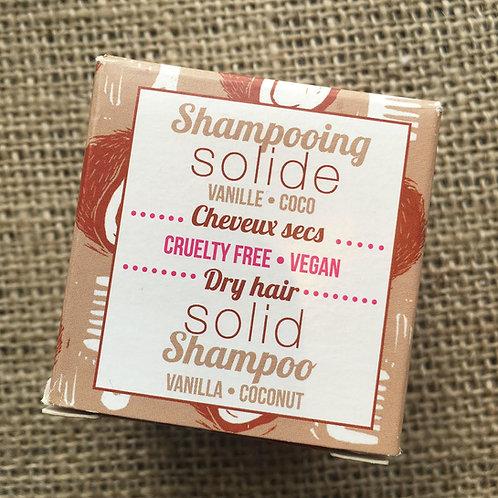 Lamazuna Shampoo Bar  - Vanilla & Coconut