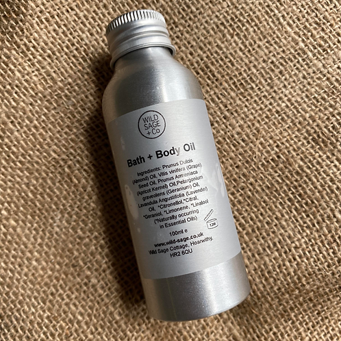 Wild Sage + Co Bath & Body Oil