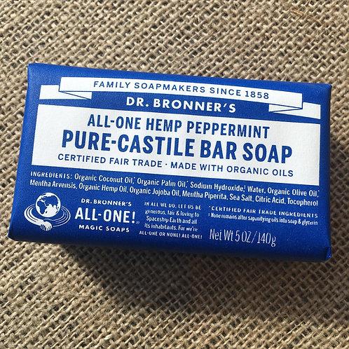 Dr Bronner's Castille Soap - Peppermint