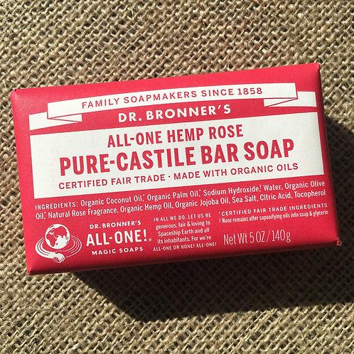 Dr Bronner's Castille Soap - Rose