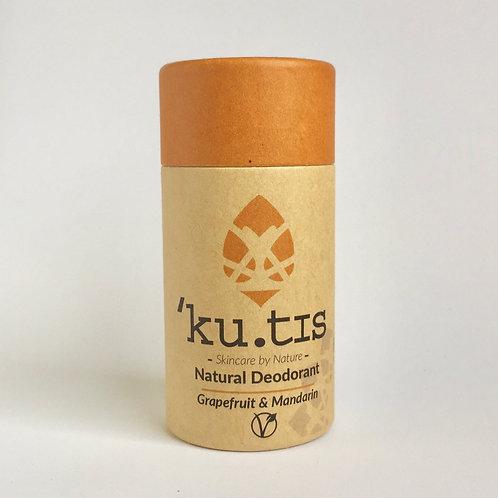 Kutis Deodorant - Grapefruit & Mandarin