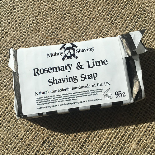 Mutiny Shaving Soap - Rosemary & Lime