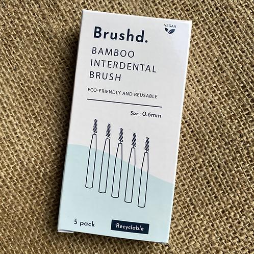 Brushd Interdental Brushes 0.6mm