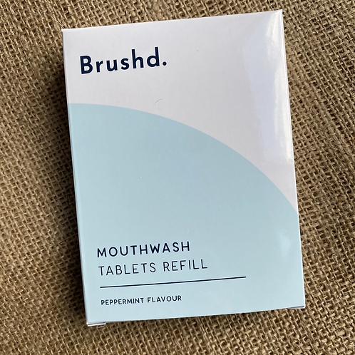 Brushd Mouthwash Tablets Refill Pack