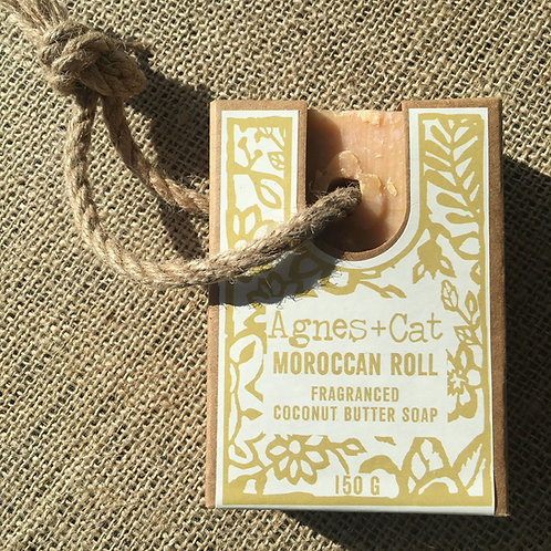 Agnes + Cat Soap On A Rope - Moroccan Roll
