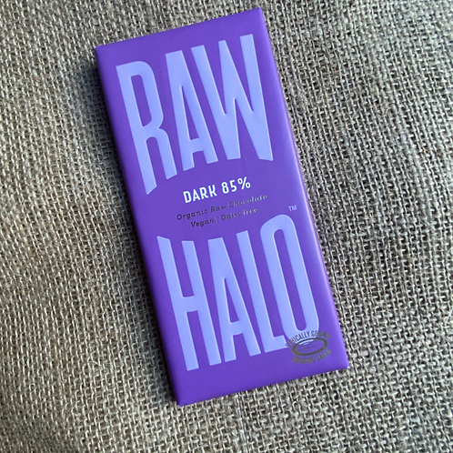 Raw Halo Organic Raw Chocolate - Dark 85%