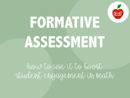 Formative Assessment in Math