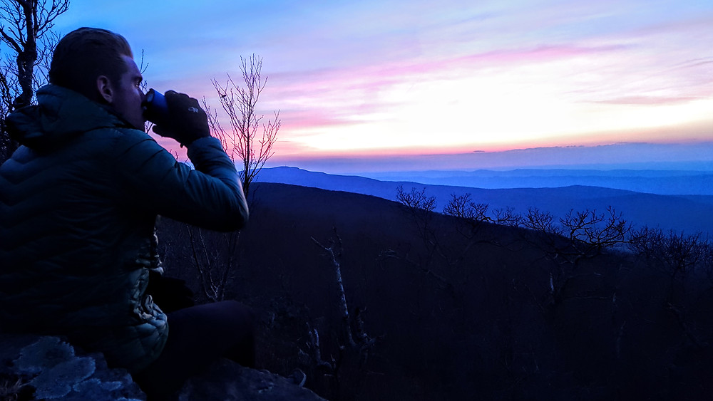 Sunset from Marshall Mountain