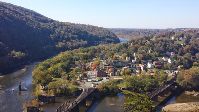 Harpers Ferry to Loudon Heights