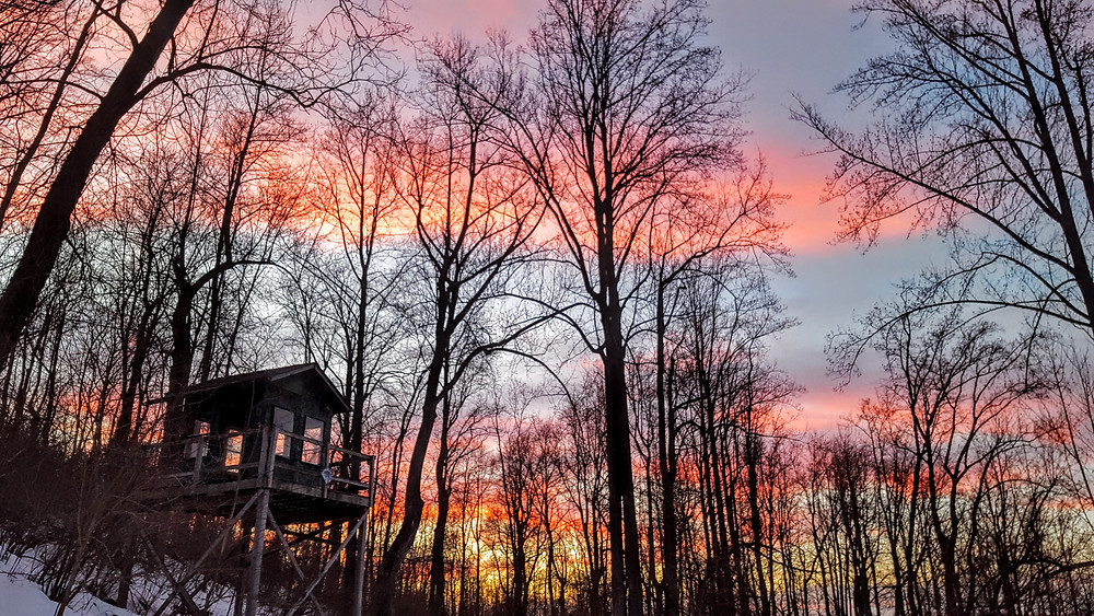 Sunset at A Bucks Peak