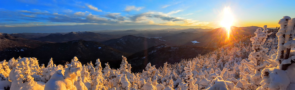 Sunset from Mount Marshall