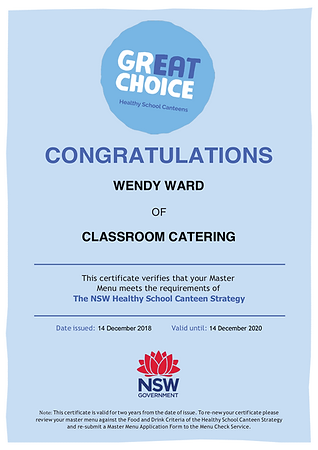 Classroom Catering certificate.png