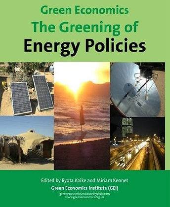 Green Economics: The Greening of Energy Policies
