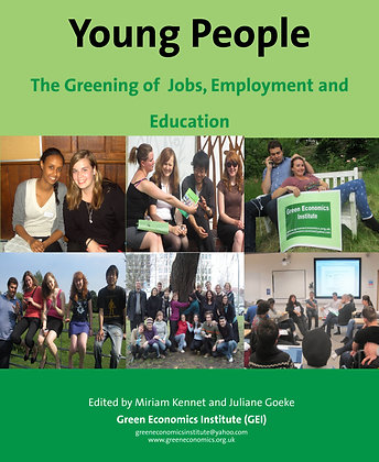 Young People: Greening Jobs,Employment & Education