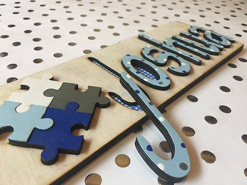 Jigsaw Name Puzzle