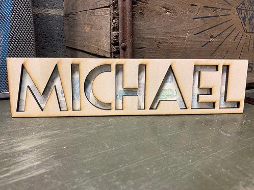 Mini Name Plaque