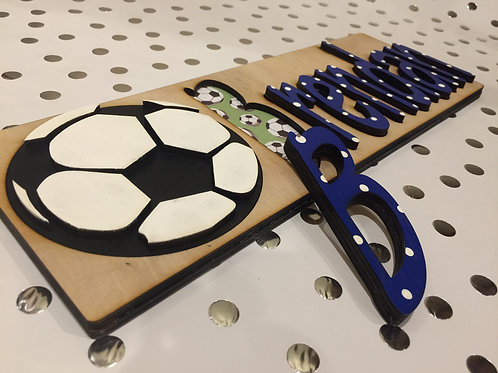 Soccer Name Puzzle