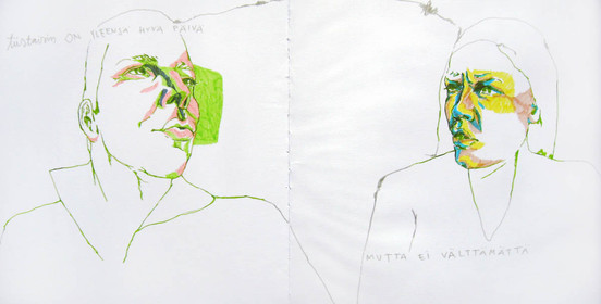 Qutations from a man´s diary / Otteita miehen päiväkirjasta, 2009