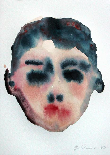 Nimetön poika / Untitled boy, 2018