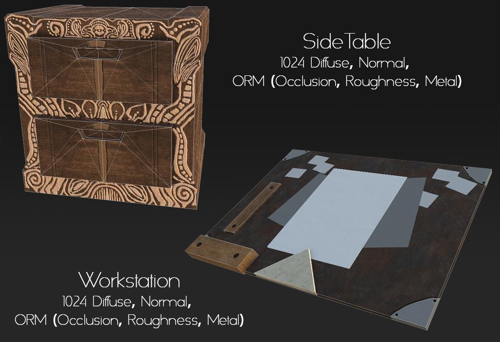 SideTableWorkstation
