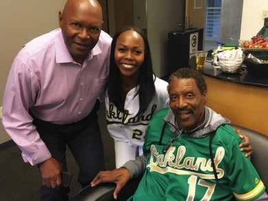 TSFF Board Executive honored by the Oakland A's as Top 50 Player!