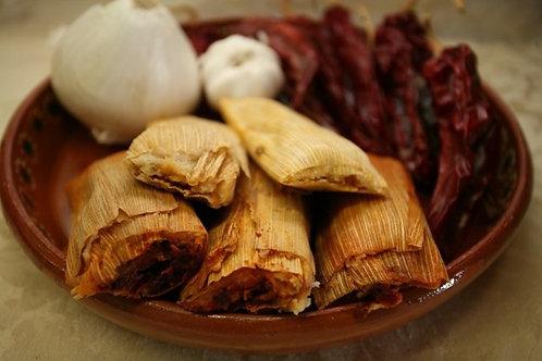 Dozen Red Beef Tamales