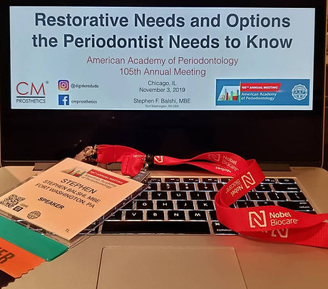 Restorative Needs and Options the Periodontist Needs to Know