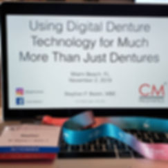 Using Digital Denture Technology for Much More Than Jusy Dentures