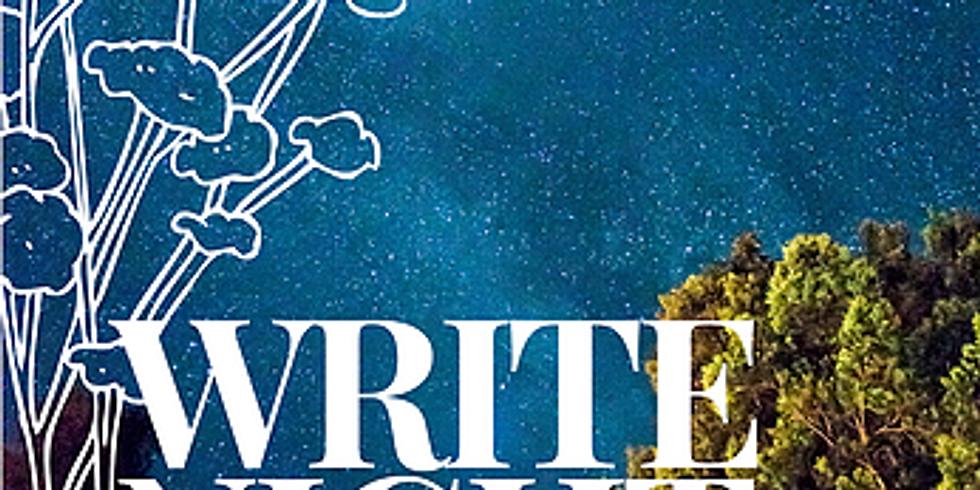 Write Night 18 June