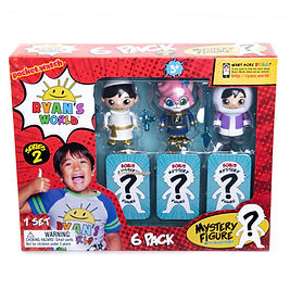 715 Mystery Figure 6 Pack Series 2 front
