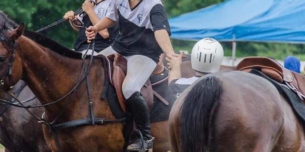 1ère compétition Horse-Ball Québec