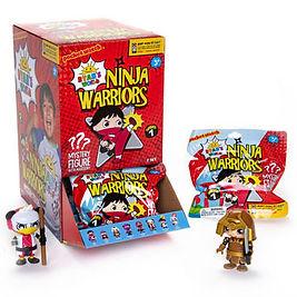 787 Ninja Warrior Mystery Figure scene l