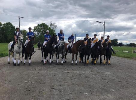Démonstration de Horseball au Lansdowne Horse Festival