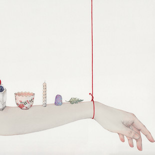 Hanging by a String - Still life