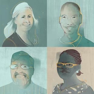 Illustrated Headshots