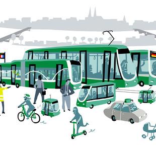 Basel public transports